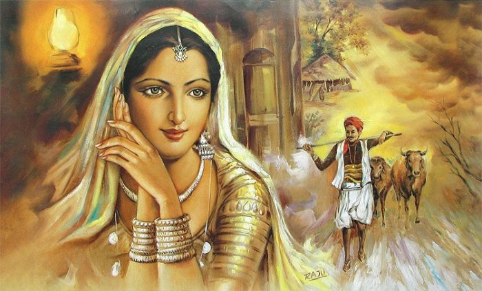 The Main Aim Of Artist Is To Create Beauty And While Working On A Particular Painting They Keep That In Mind This Why Indian Arts Have