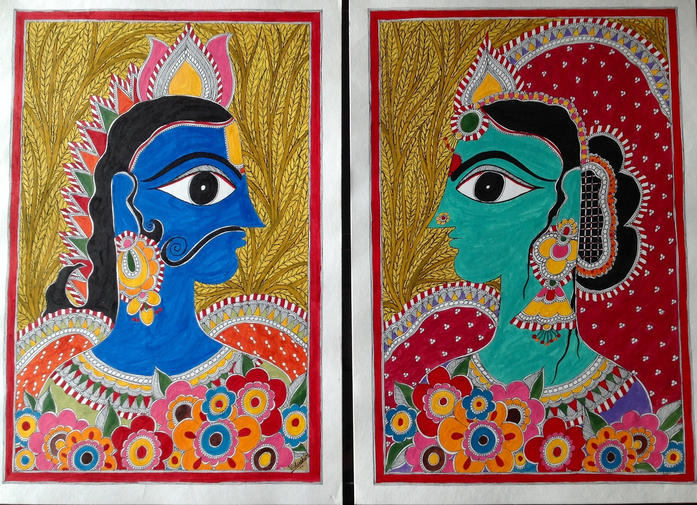 interesting facts about traditional indian art traditional art