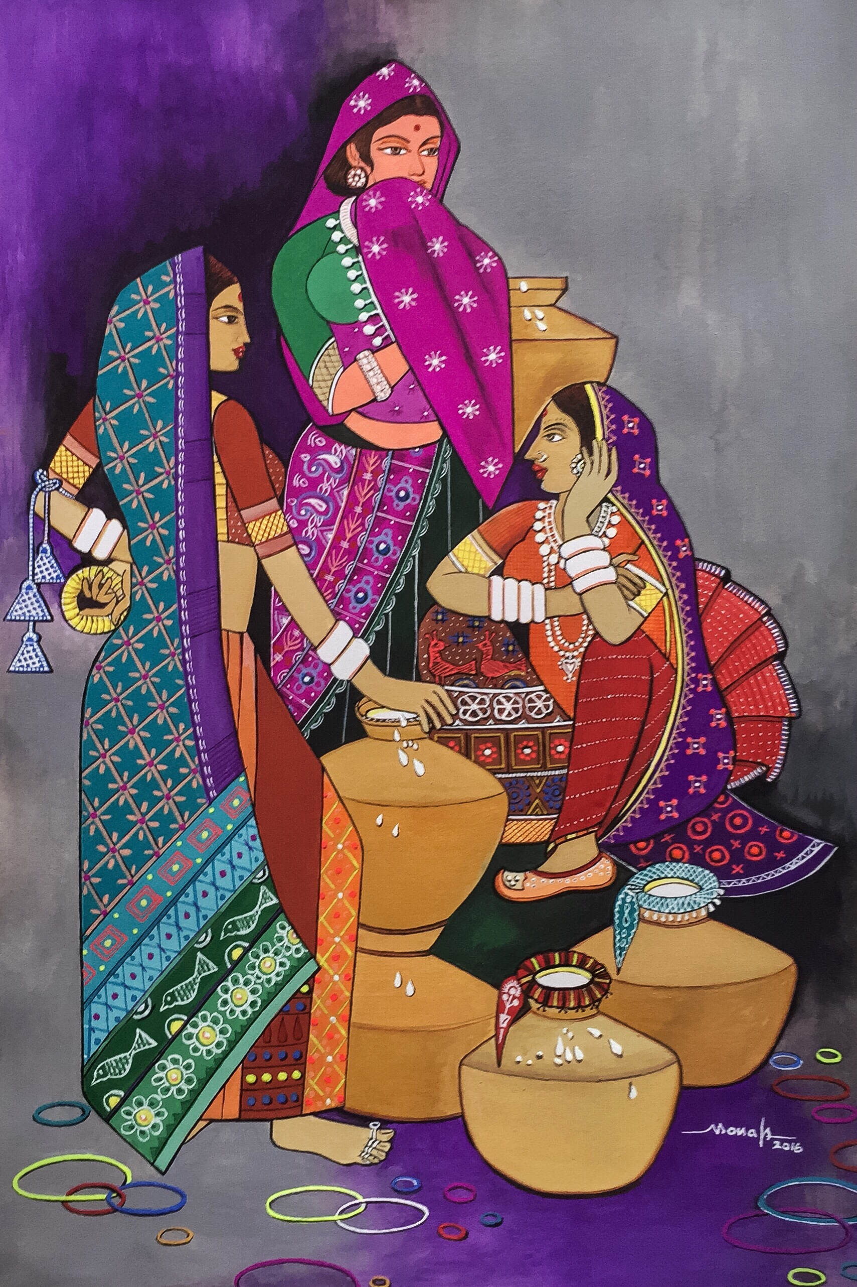 Modern indian art the confluence of indian traditions and western mannerism