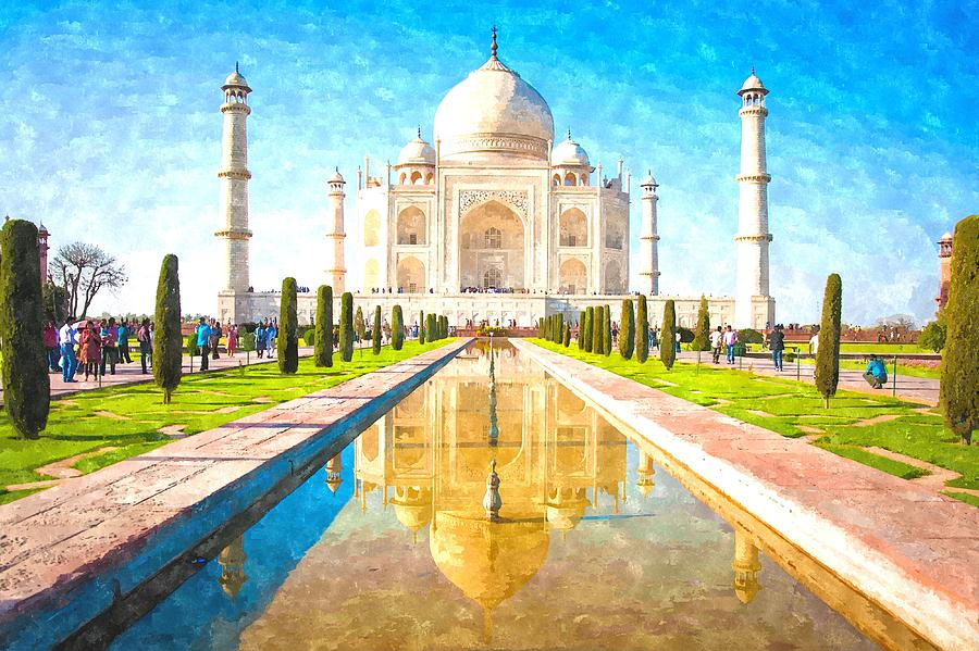 Taj Mahal Pictures Scenic Travel Photos: The Most Beautiful Artwork In The History Of Mankind Taj