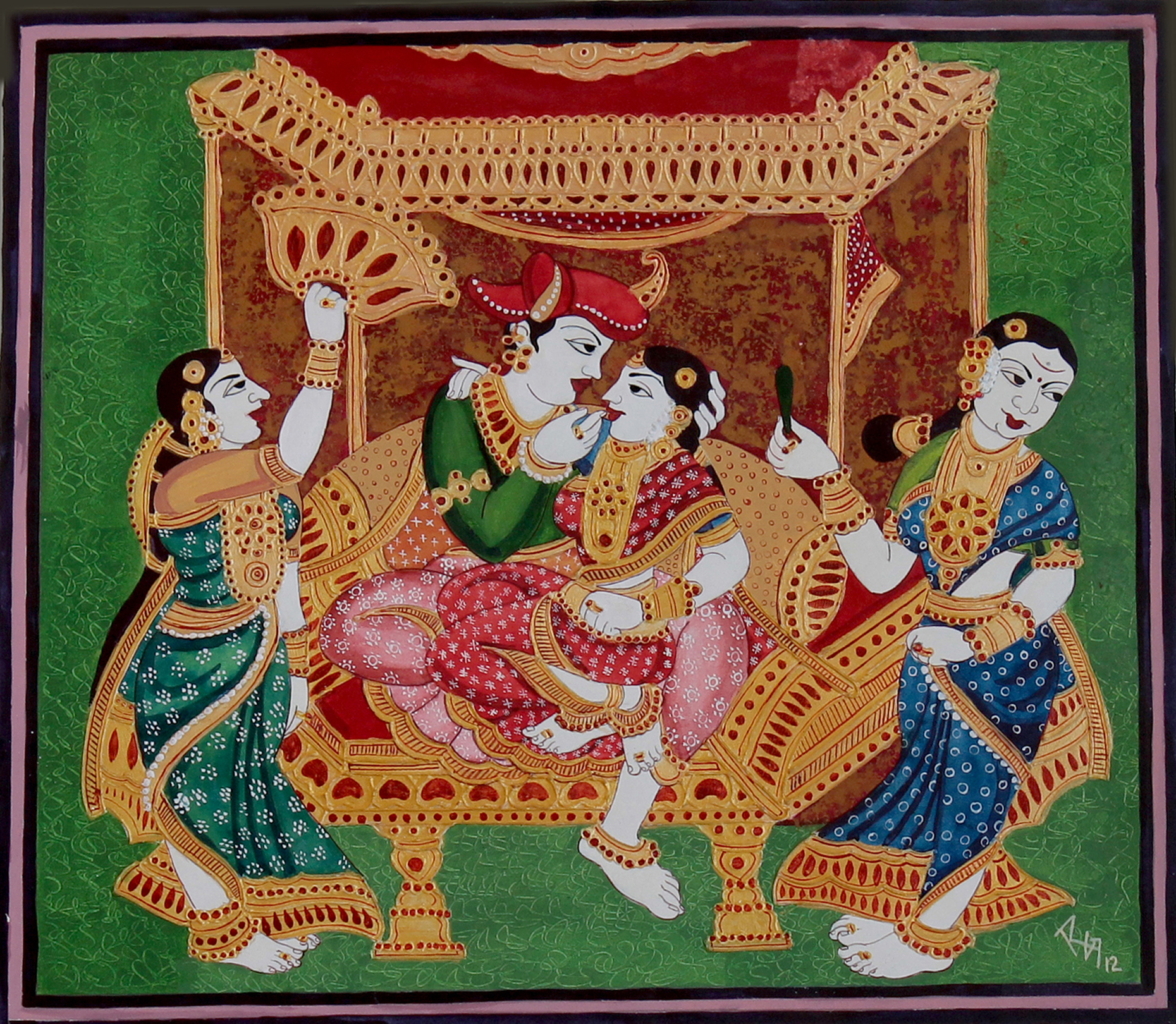 4 Traditional Indian Artworks Which Are The Pride Of The
