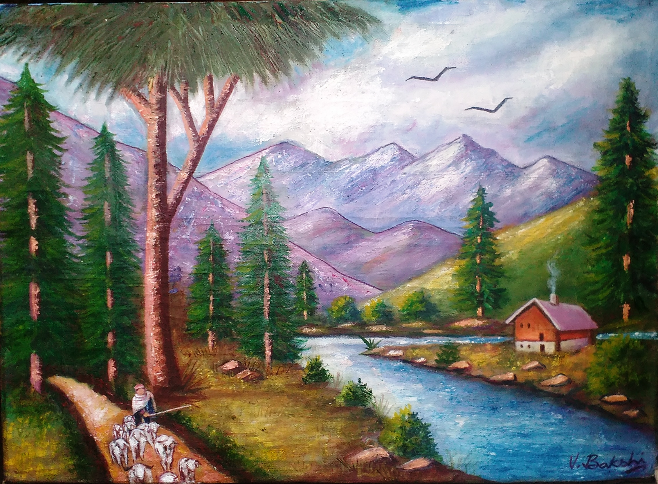 Tips For Buying The Most Suitable Landscape Paintings For Your Space •  Landscape Art • indianartideas.in Blog
