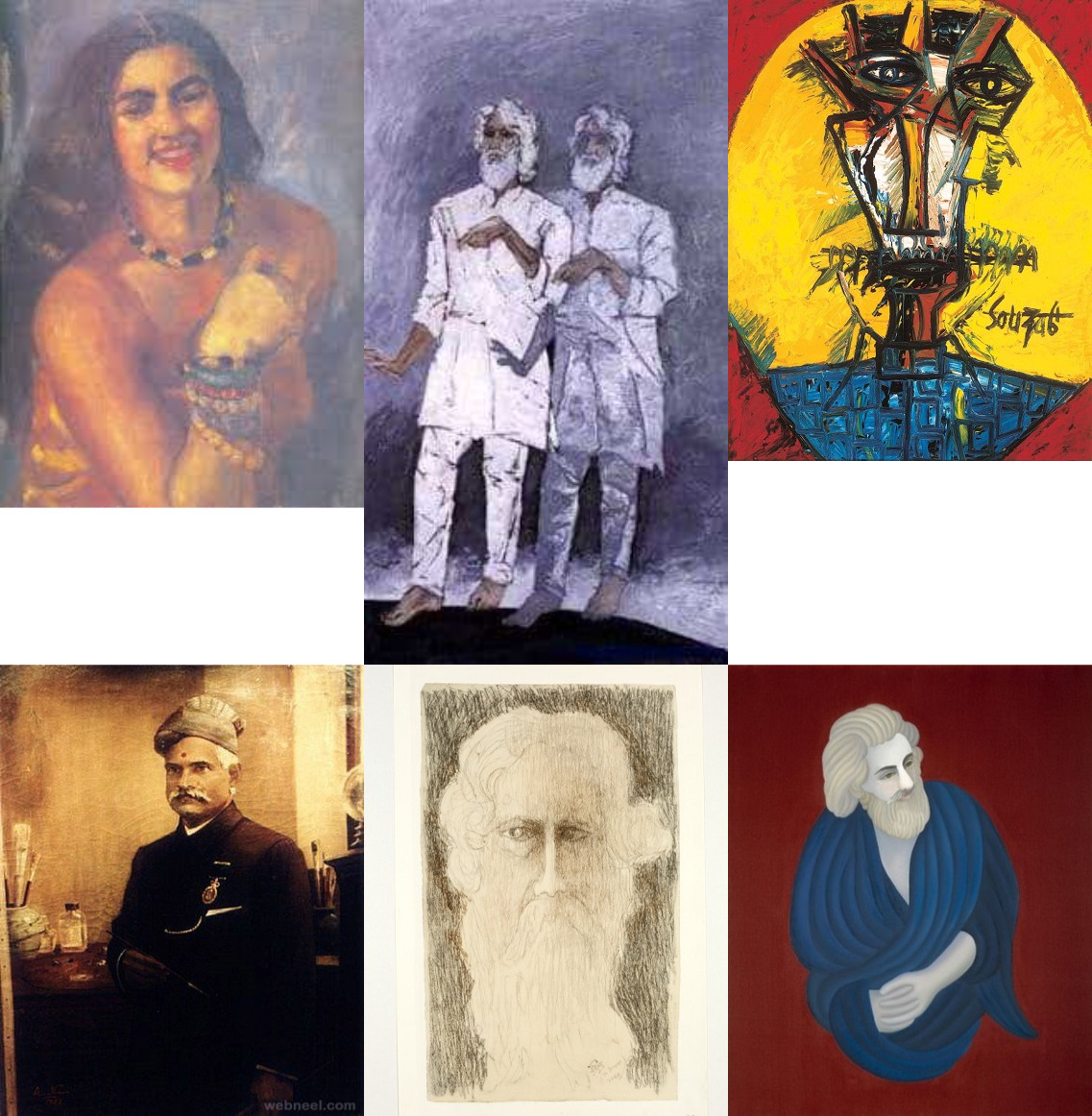 Six Stunning Self Portraits Of Indian Artists You Must See