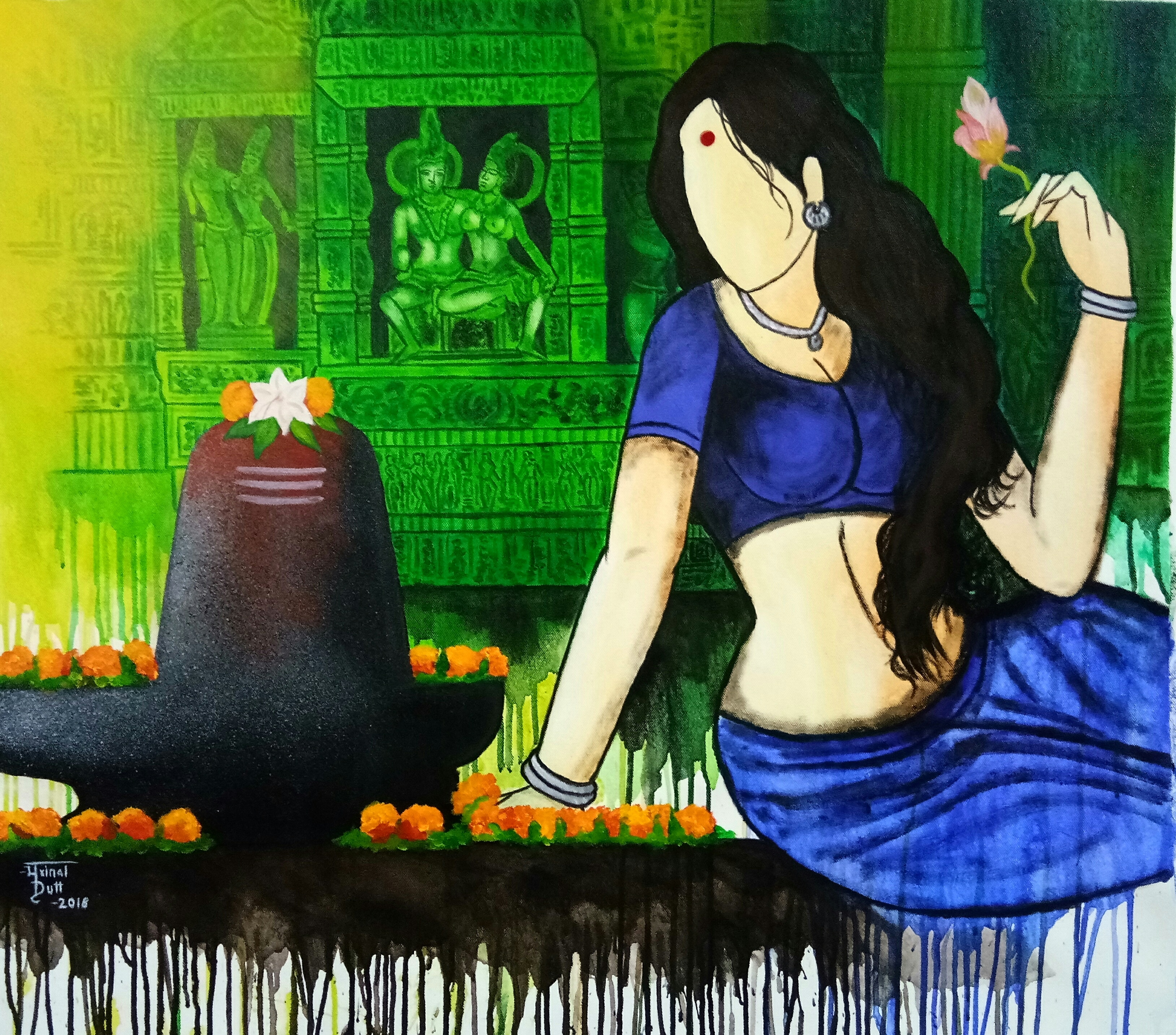 Different Types Of Medium Used In Indian Art Paintings