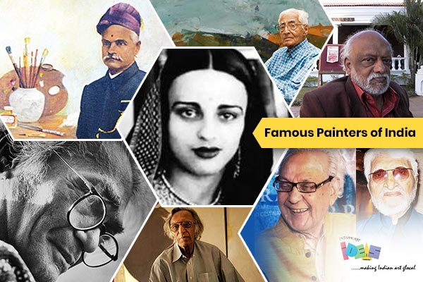 Meet the Famous Painters of India |IndianArtIdeas