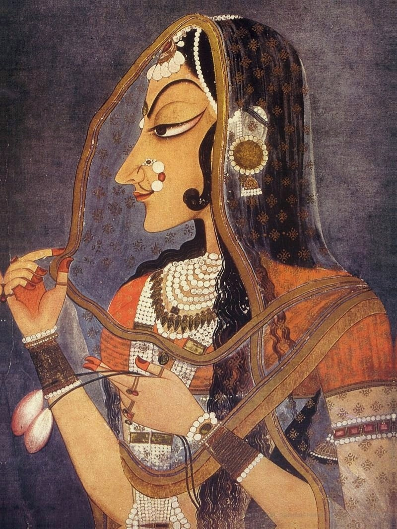 Bani Thani - Indian Women Paintings