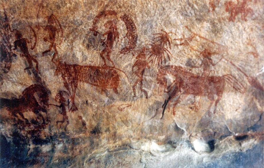 Cave paintings - Types of Indian Paintings
