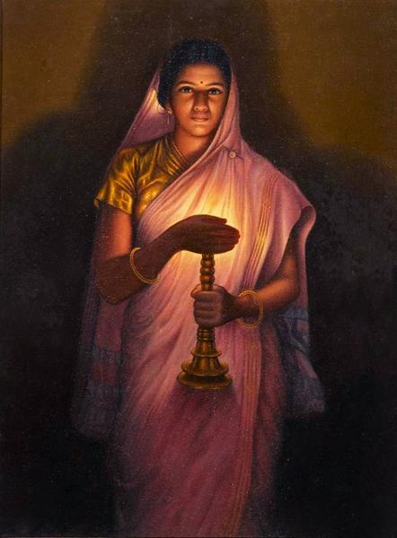 Glow of Hope - Indian Women Paintings