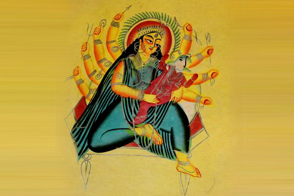 Kalighat Paintings - art forms of India