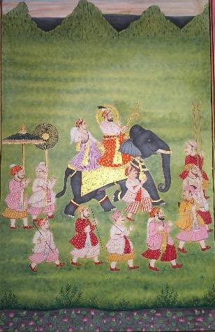 The Mughals and the Art - Indian Art Paintings