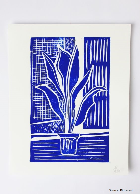 Lino Relief Print