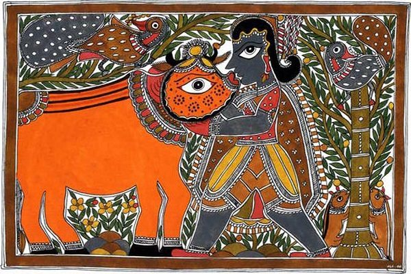 Madhubani Paintings - Types of Indian Paintings