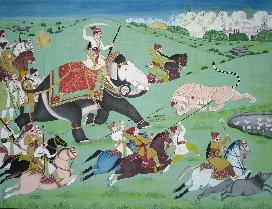 Mughal painting - traditional Indian art