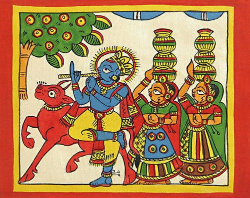 Phad painting - traditional Indian art