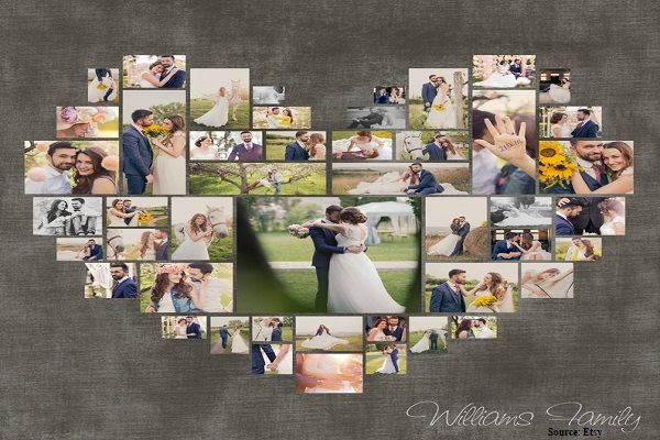 Photo Collage - Romantic Gifts