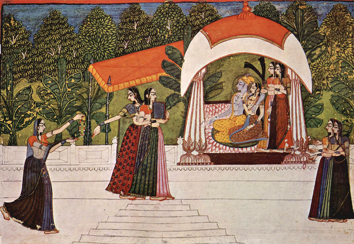 Rajput Painting - traditional Indian art