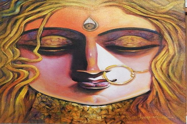 Paintings Online - Shakti by Subrata Ghosh
