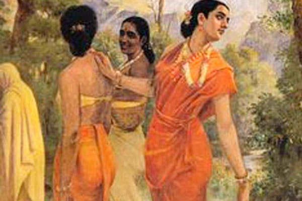 famous indian painters and their paintings