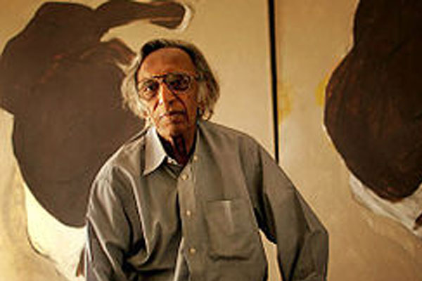 Tyeb Mehta - famous painters of india