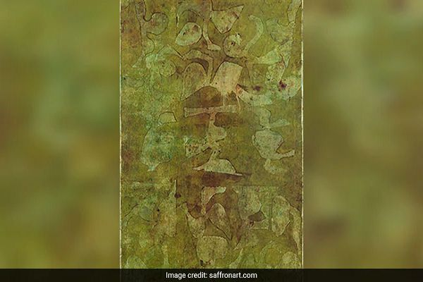 Untitled by Vasudeo S Gaitonde - most expensive Indian paintings