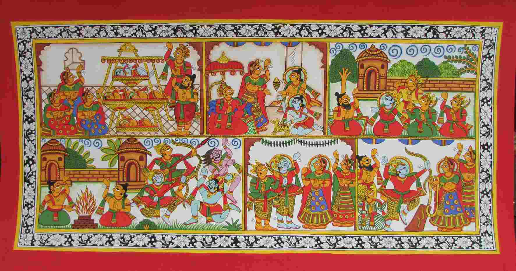 phad painting - art forms of India