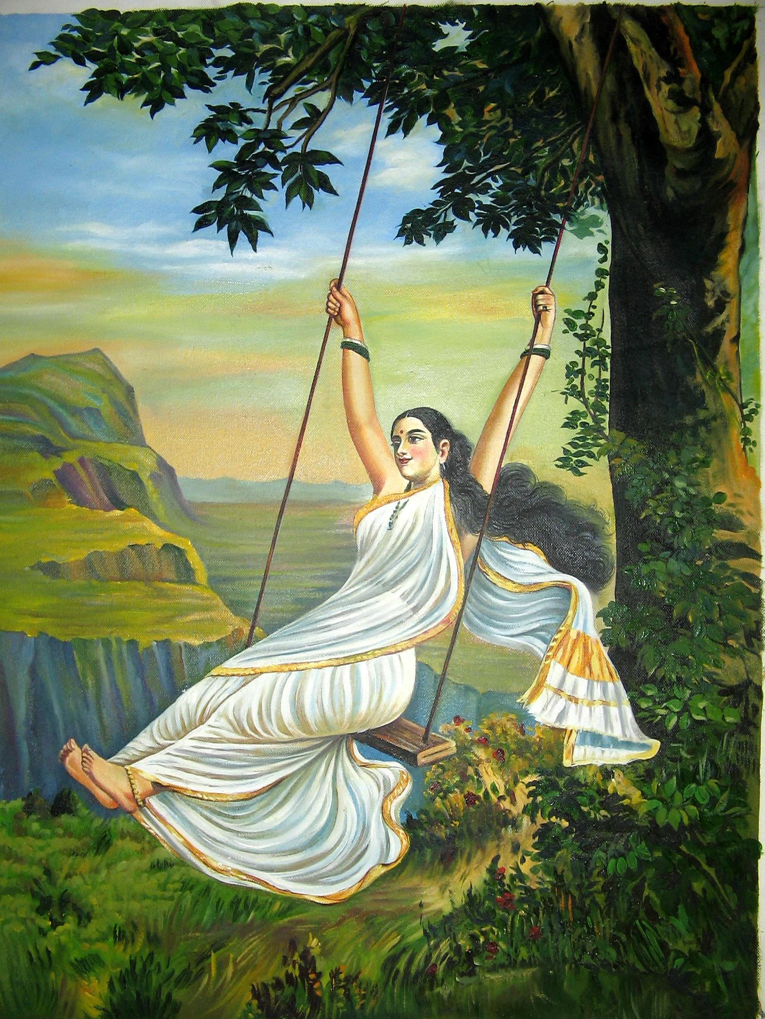 Traditional Indian Paintings - Famous Indian Artist with ...