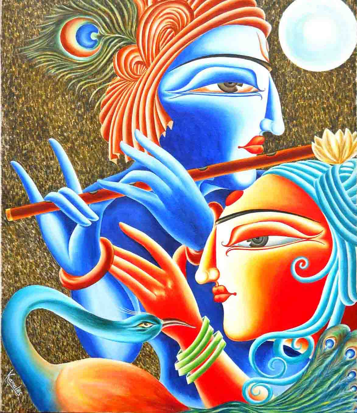 Buy Painting Love Touch 2 Artwork No 2756 By Indian Artist