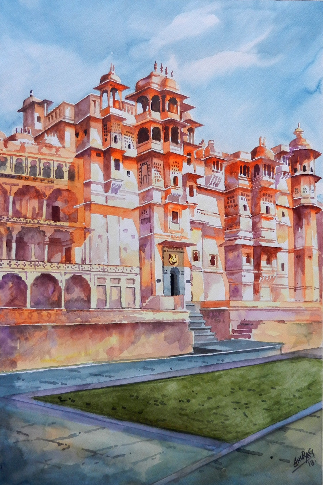 The City Palace Udaipur 1 4277