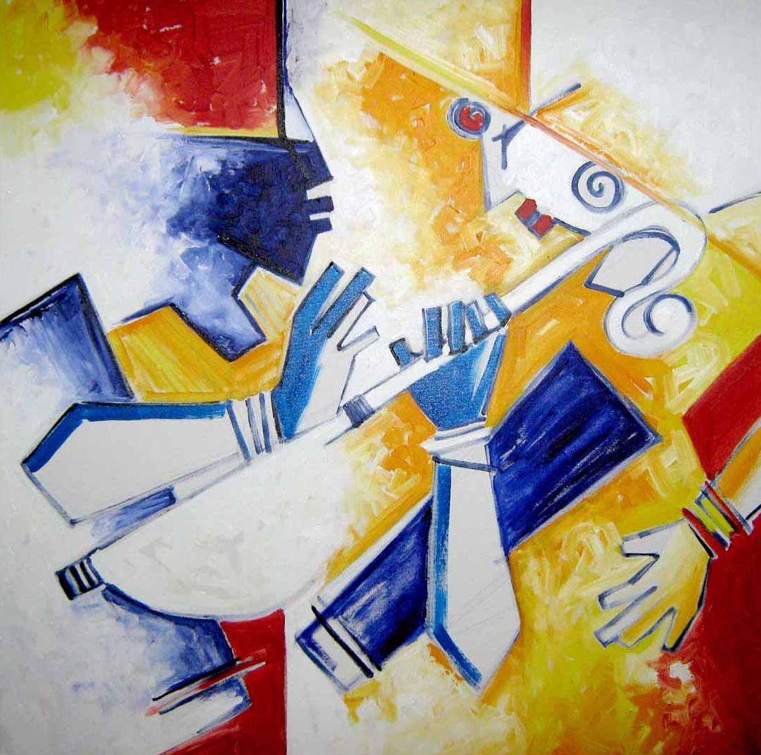 Contemporary paintings of lord krishna for Modern art to buy