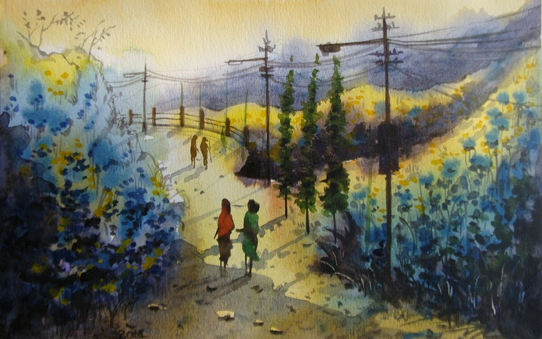 Famous Landscape Paintings – New Style of Painting the Canvas, Seekyt