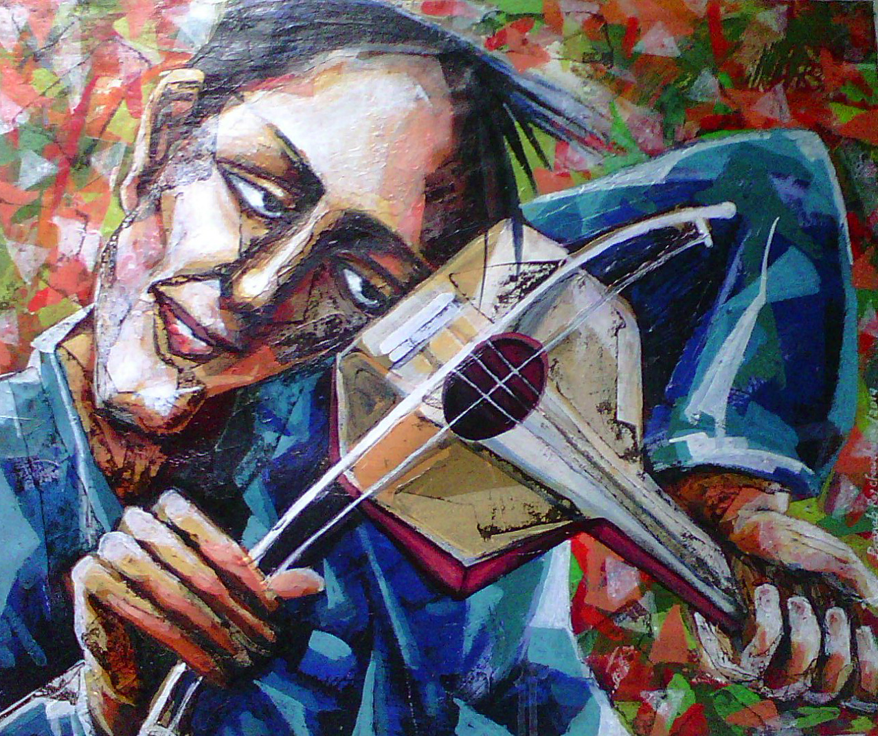 Violin Player 5894