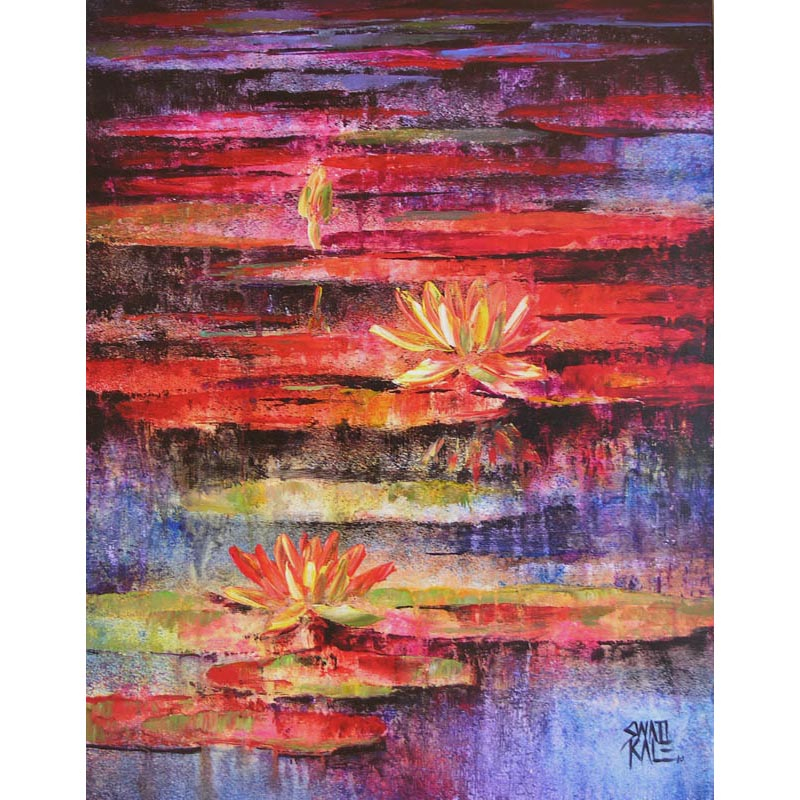 Water Lilies  13 5975