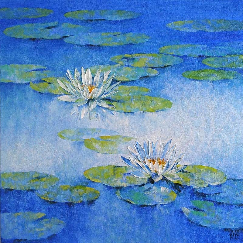 Water Lilies  6 5992