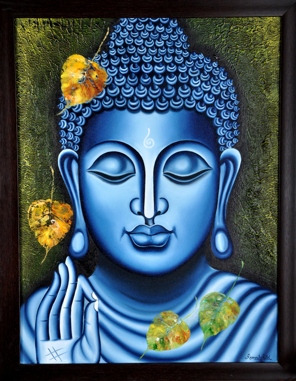 Buy Painting Lord Buddha Painting Artwork No 5997 by ...