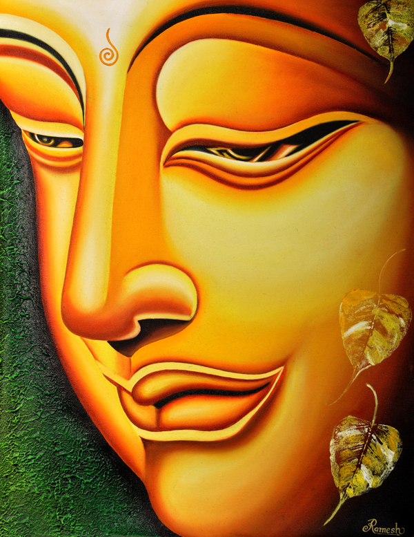 Buy Painting Lord Buddha Painting Artwork No 6000 by ...