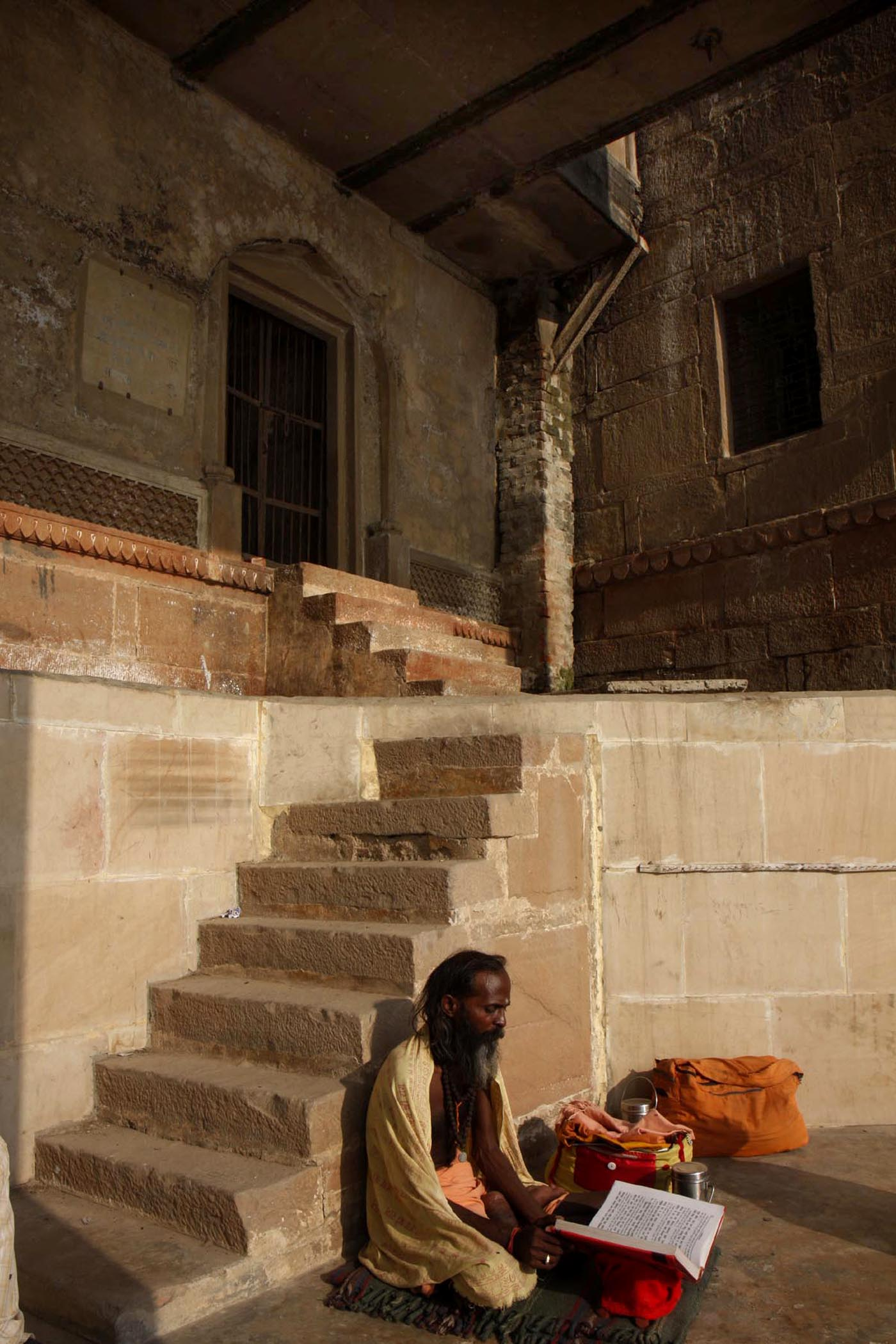 Lanes of Varanasi Seen from Within 6138