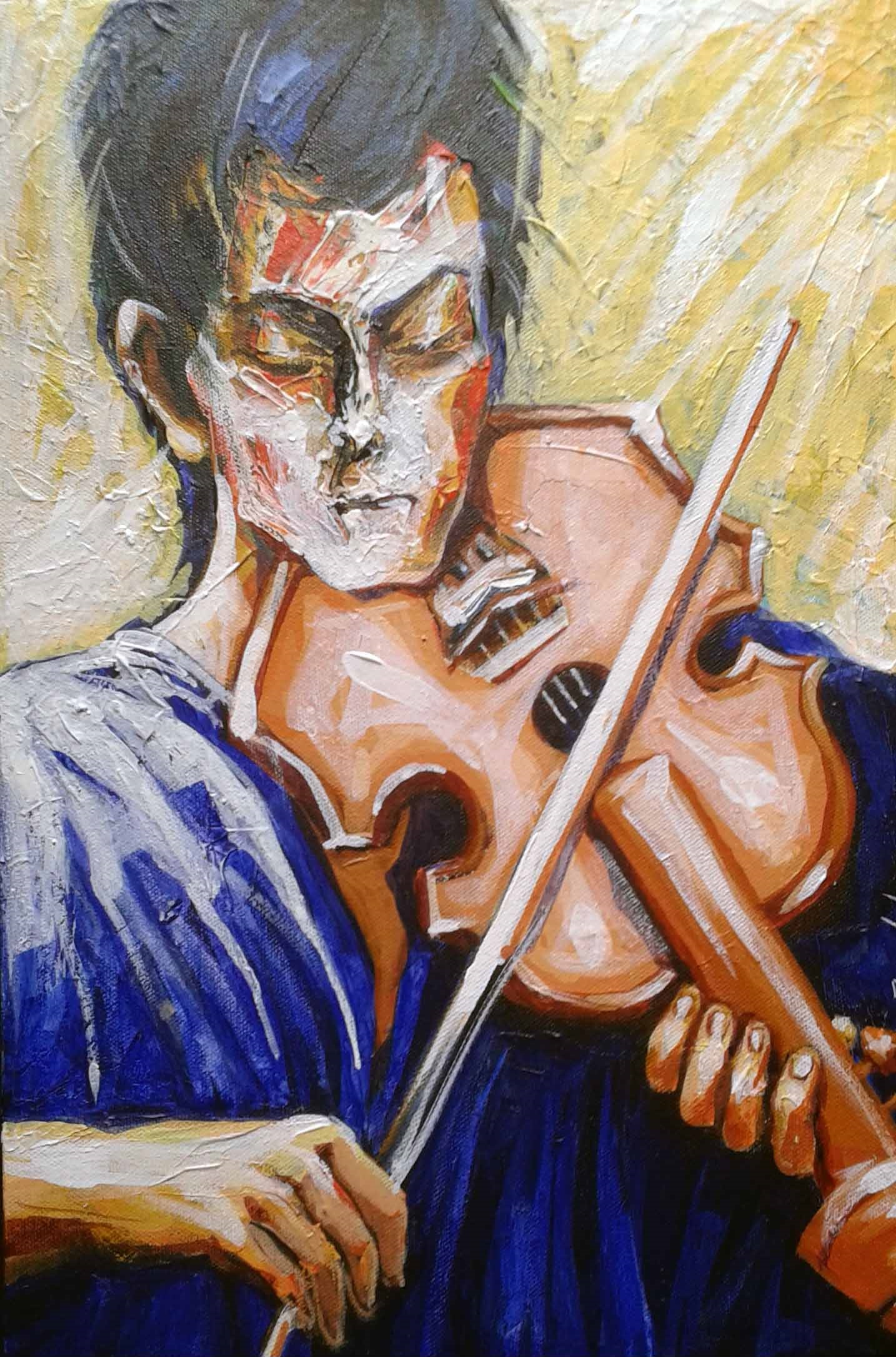 Violin player4 7012