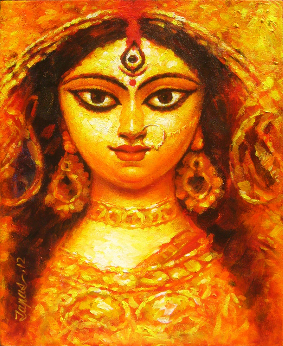 Buy Painting Durga 1 Artwork No 7086 By Indian Artist