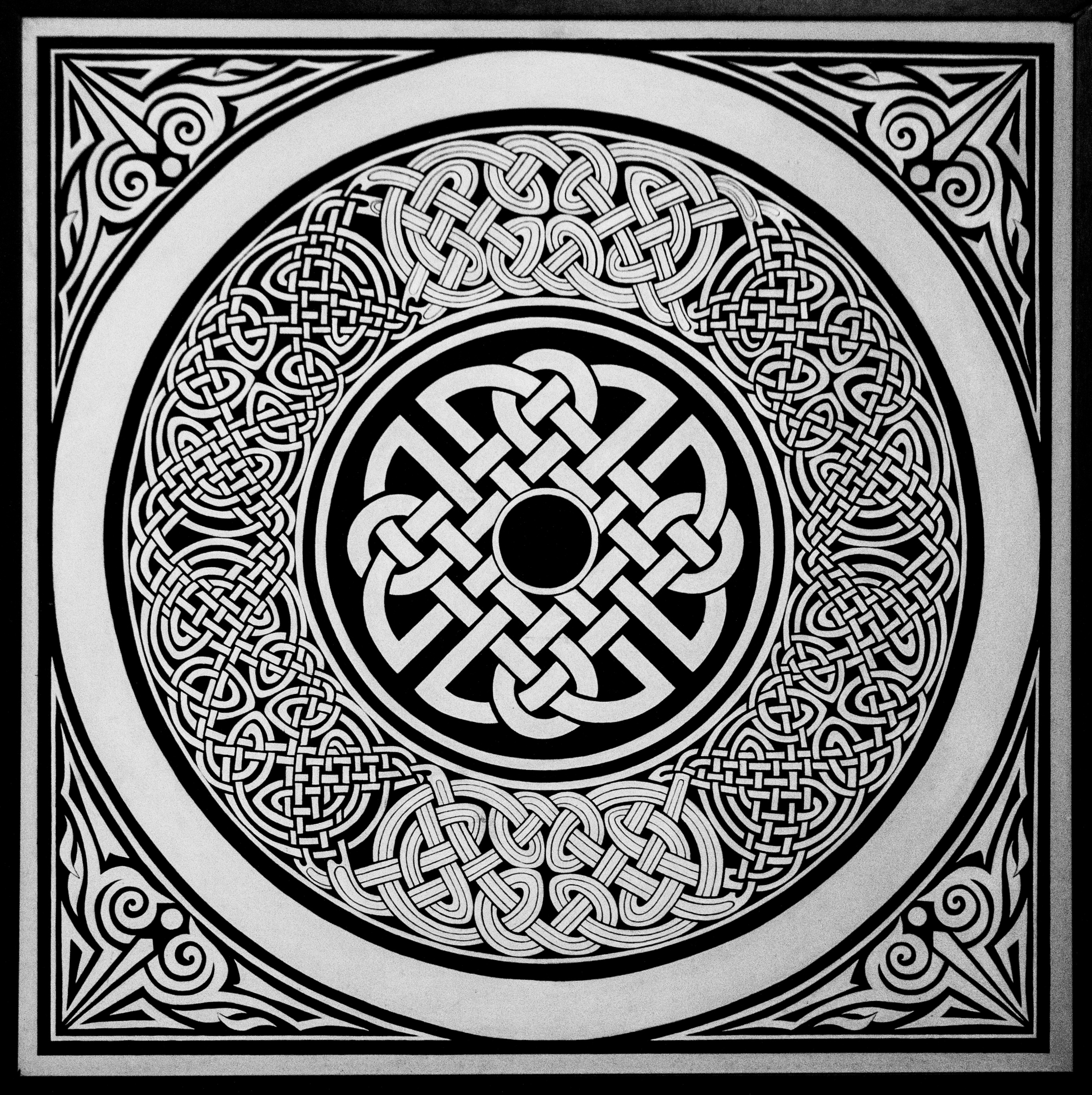 Celtic wheel 7145