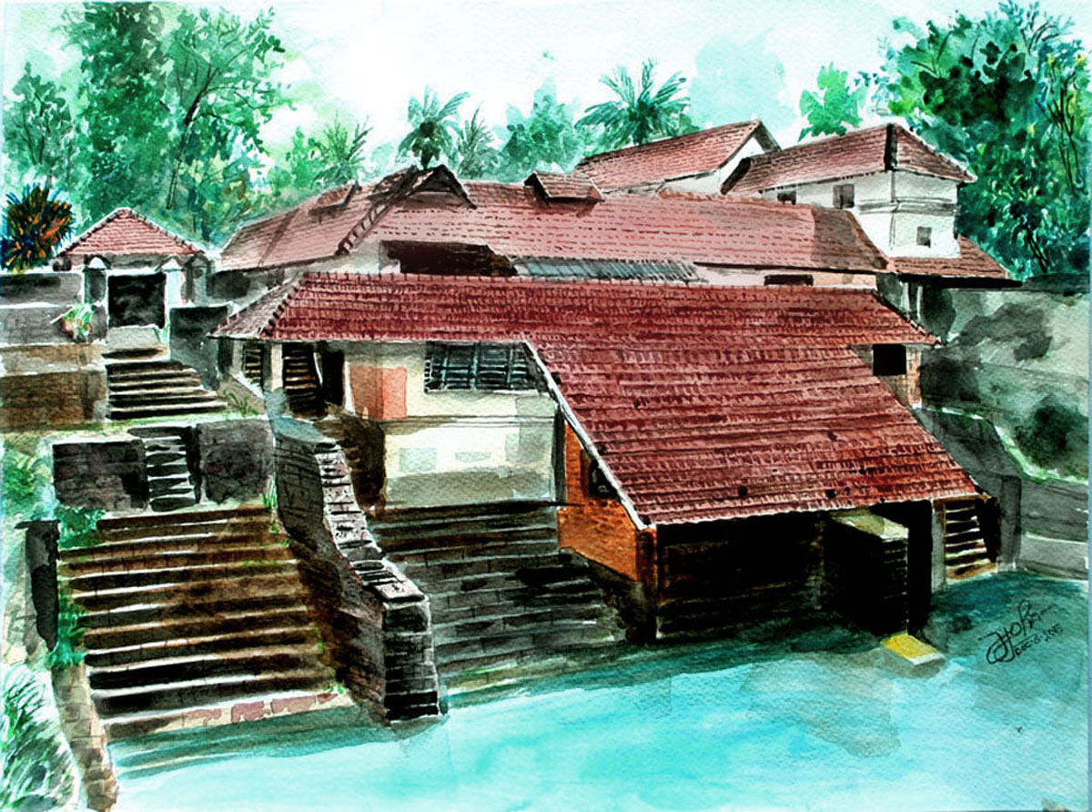 Traditional architechture of Kerala 8471