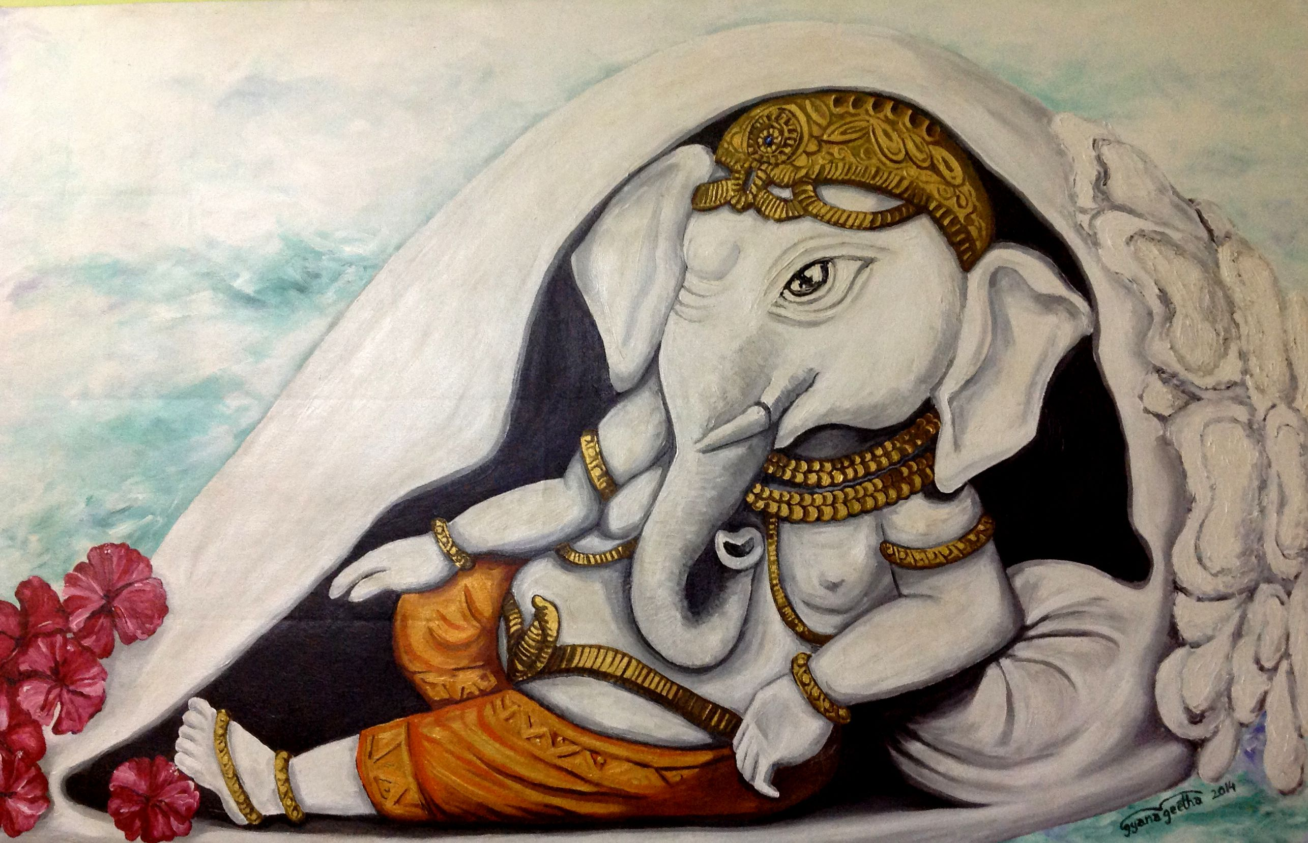 Ganesha - The auspicious one 8713