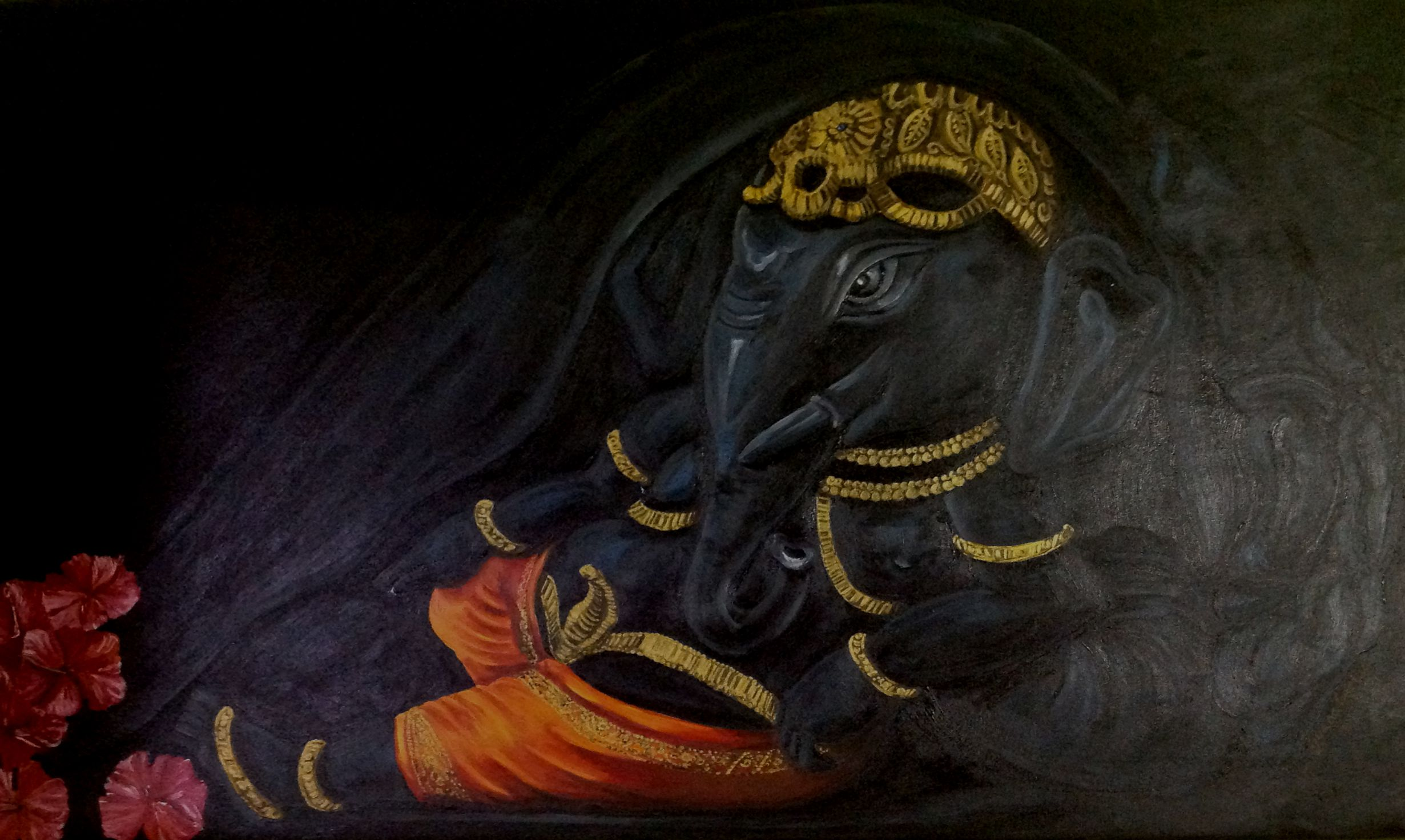 Ganesha - The primordial moment 8719