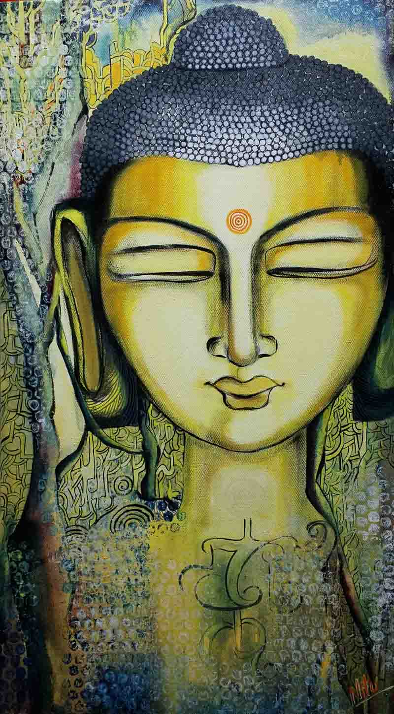 Divine expression of peace 9297