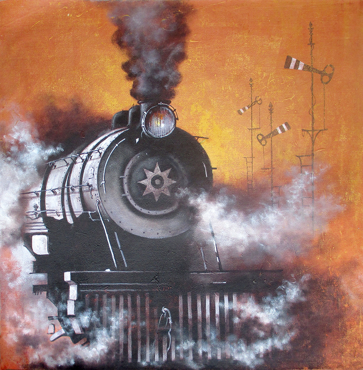 Nostalgia of Indian steam locomotives 27 10338