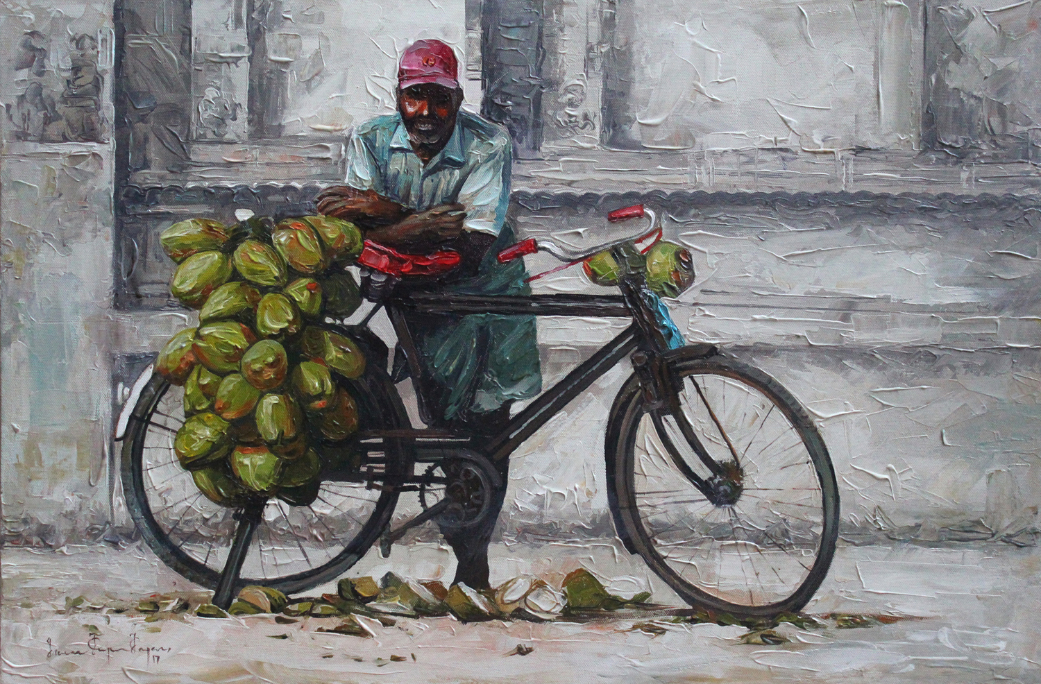 Coconut Seller 10394