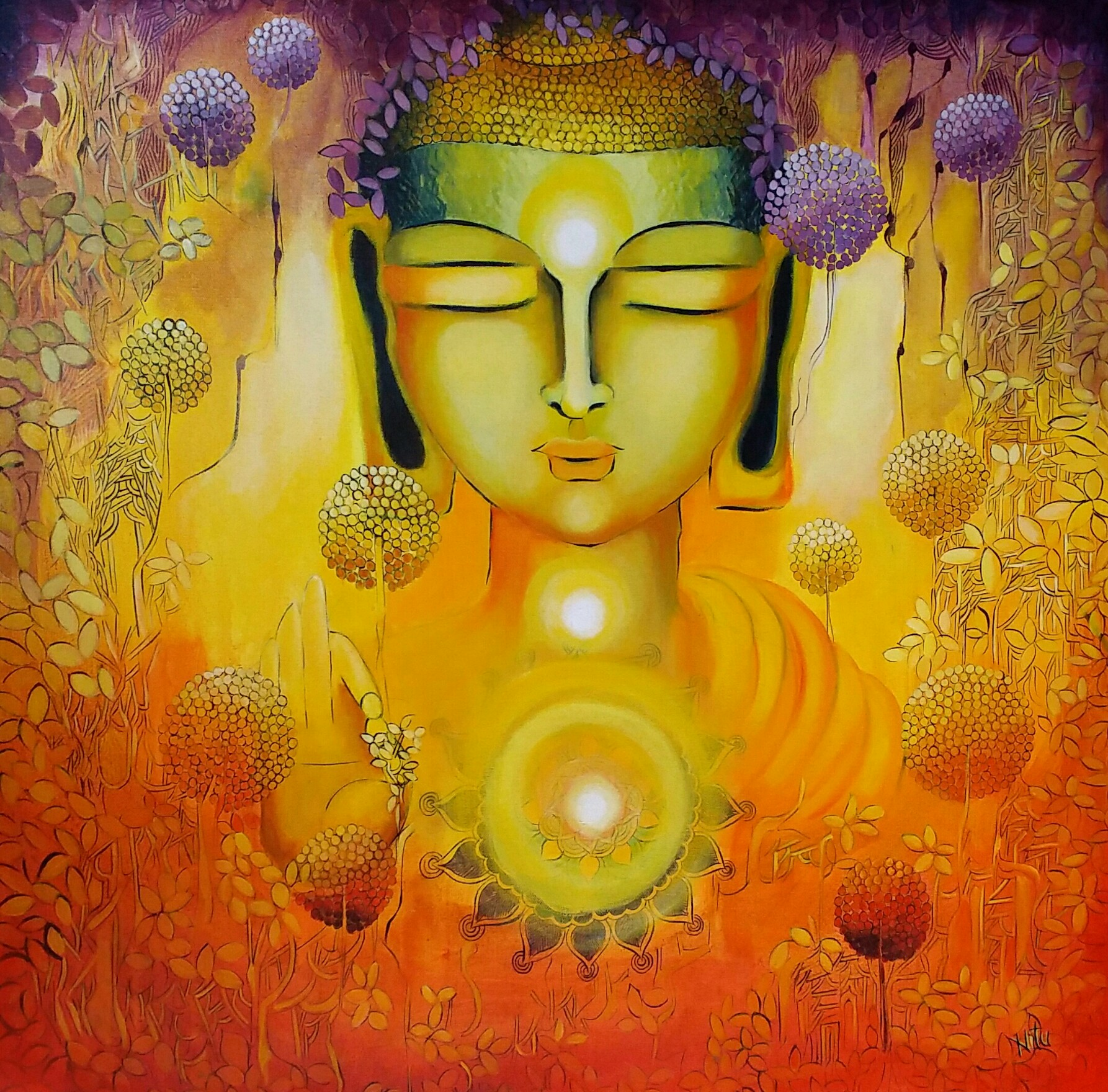 Glimpse of Buddha enlightenment 10541