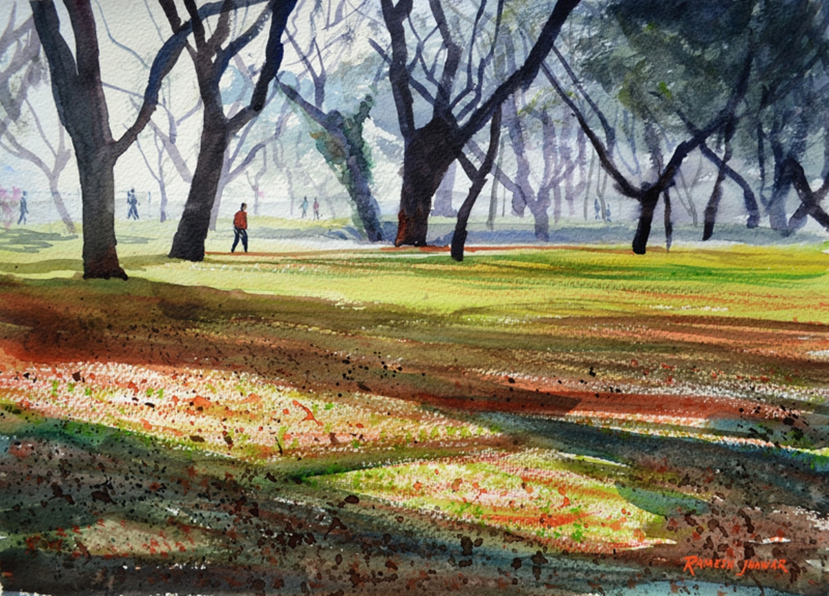 Morning light at Lalbagh 10548