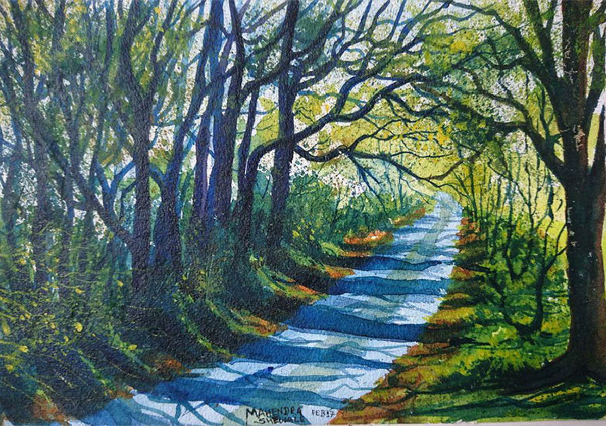 Road with Greeny Nature 11440