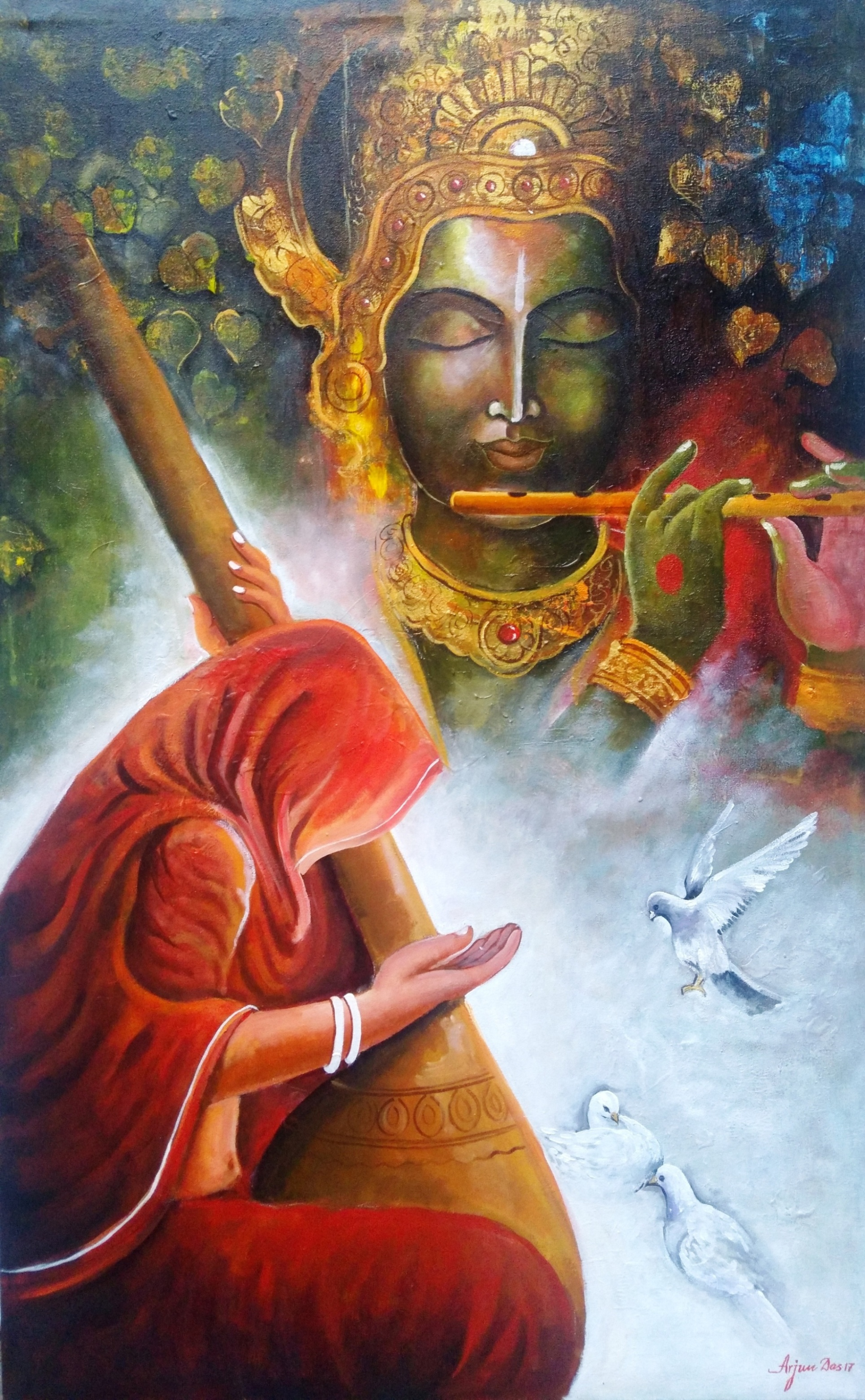 Buy Buddha Paintings Online India