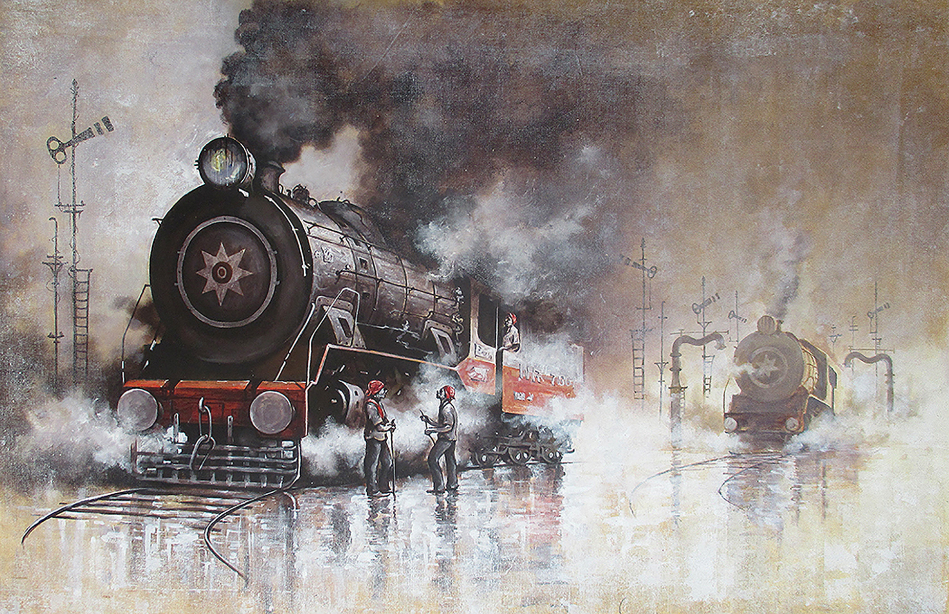 Nostalgia of Indian steam locomotives 31 10157